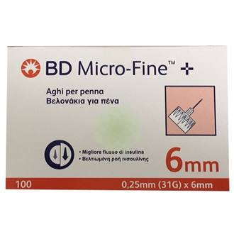 AGO BD MICROFINE G31 6MM 100PZ